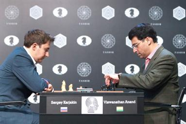 All eyes on Anand, Karjakin in Moscow